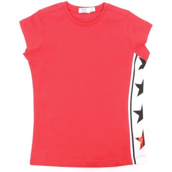 tekstylia Dziewczynka T-shirty z krótkim rękawem Melby 70E5645 Czerwony