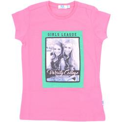 tekstylia Dziewczynka T-shirty z krótkim rękawem Melby 70E5645 Różowy