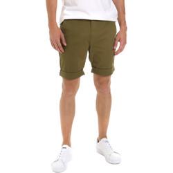 tekstylia Męskie Szorty i Bermudy Tommy Jeans DM0DM05444 Zielony