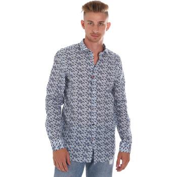 tekstylia Męskie Koszule z długim rękawem Sseinse CE508SS Niebieski