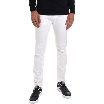 tekstylia Męskie Jeansy slim fit Gaudi 011BU25061 Biały