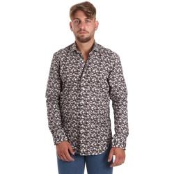 tekstylia Męskie Koszule z długim rękawem Betwoin DIONISIOÙ Biały