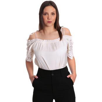 tekstylia Damskie Topy / Bluzki Gaudi 811FD45011 Beżowy