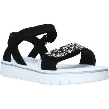 Buty Dziewczynka Sandały Melania ME6043F0S.A Czarny
