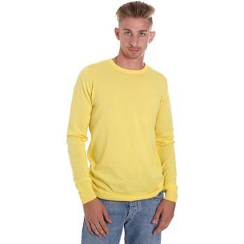 tekstylia Męskie Swetry Sseinse ME1504SS Żółty