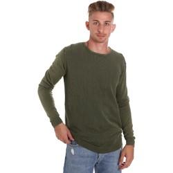 tekstylia Męskie Swetry Sseinse ME1510SS Zielony