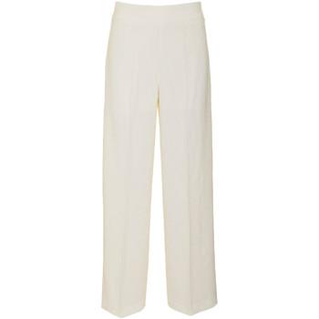 tekstylia Damskie Spodnie z lejącej tkaniny / Alladynki Pepe jeans PL211054 Biały