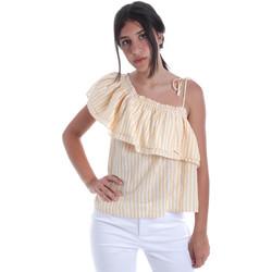 tekstylia Damskie Topy / Bluzki Pepe jeans PL303706 Żółty
