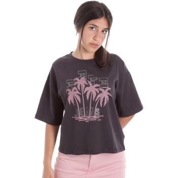 tekstylia Damskie T-shirty z krótkim rękawem Pepe jeans PL504468 Czarny