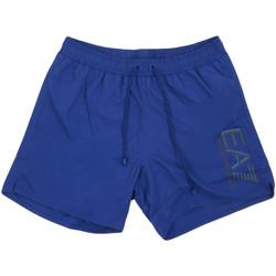 tekstylia Męskie Kostiumy / Szorty kąpielowe Ea7 Emporio Armani 902000 0P738 Niebieski