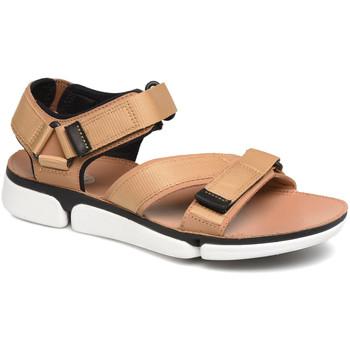 Buty Męskie Sandały Clarks 26141049 Brązowy