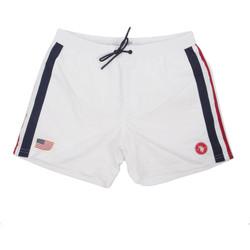 tekstylia Męskie Kostiumy / Szorty kąpielowe U.S Polo Assn. 58450 52458 Biały