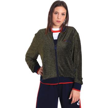 tekstylia Damskie Bluzy Fila 684378 Niebieski