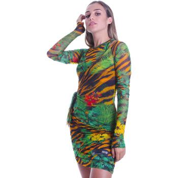 tekstylia Damskie Sukienki krótkie Versace D2HVB495S0782983 Czarny