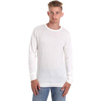 tekstylia Męskie T-shirty z długim rękawem Sseinse ME1504SS Biały