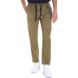 tekstylia Męskie Chinos Tommy Jeans DM0DM07826 Zielony