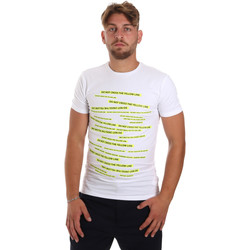 tekstylia Męskie T-shirty z krótkim rękawem Antony Morato MMKS01749 FA120001 Biały
