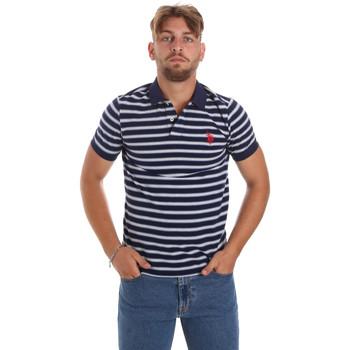 tekstylia Męskie Koszulki polo z krótkim rękawem U.S Polo Assn. 56336 52802 Niebieski