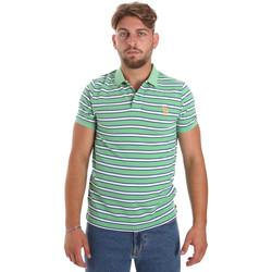 tekstylia Męskie Koszulki polo z krótkim rękawem U.S Polo Assn. 56336 52802 Zielony
