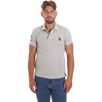 tekstylia Męskie Koszulki polo z krótkim rękawem U.S Polo Assn. 55985 41029 Szary