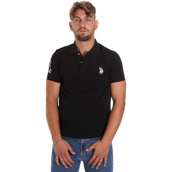 tekstylia Męskie Koszulki polo z krótkim rękawem U.S Polo Assn. 55985 41029 Czarny