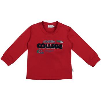 tekstylia Dziecko T-shirty z długim rękawem Melby 20C0280 Czerwony