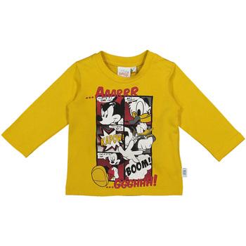 tekstylia Dziecko T-shirty z długim rękawem Melby 20C2040DN Żółty