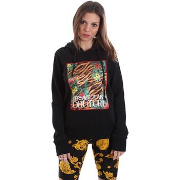 tekstylia Damskie Bluzy Versace B6HVB70K30328899 Czarny