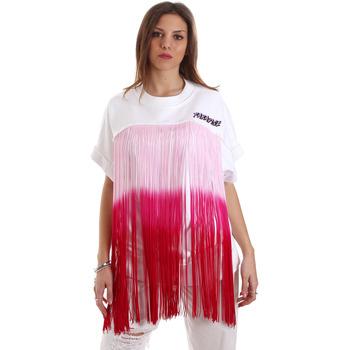 tekstylia Damskie Bluzy Versace B6HVB76713956003 Biały