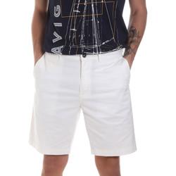 tekstylia Męskie Szorty i Bermudy Navigare NV56031 Biały