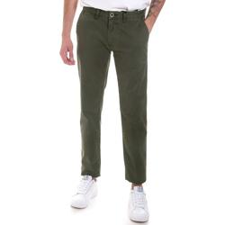 tekstylia Męskie Chinos Gaudi 821FU25013 Zielony