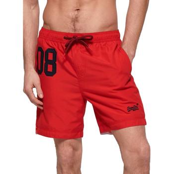 tekstylia Męskie Kostiumy / Szorty kąpielowe Superdry M3010008A Czerwony