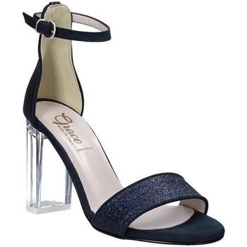Buty Damskie Sandały Grace Shoes 018TR003 Niebieski