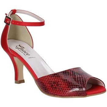 Buty Damskie Sandały Grace Shoes 928008 Czerwony
