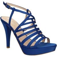Buty Damskie Sandały Grace Shoes 2078 Niebieski