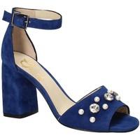 Buty Damskie Sandały Grace Shoes 536 Niebieski