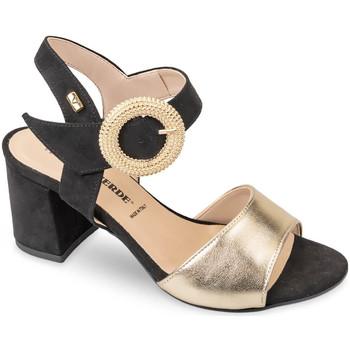 Buty Damskie Sandały Valleverde 28251 Złoto