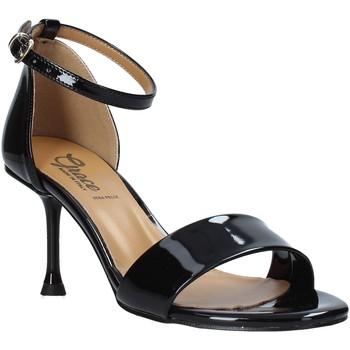 Buty Damskie Sandały Grace Shoes 492G001 Czarny