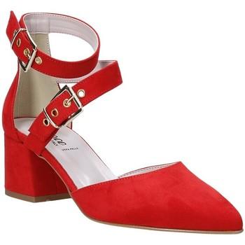 Buty Damskie Czółenka Grace Shoes 774004 Czerwony