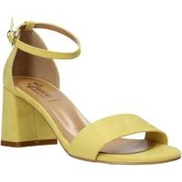 Buty Damskie Sandały Grace Shoes 380008 Żółty