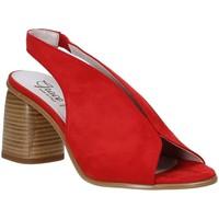 Buty Damskie Sandały Grace Shoes 492S001 Czerwony