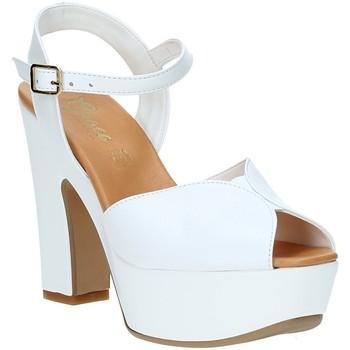 Buty Damskie Sandały Grace Shoes FLY Biały