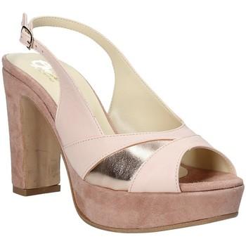 Buty Damskie Sandały Grace Shoes JN 093 Różowy