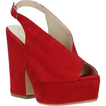 Buty Damskie Sandały Grace Shoes ALBA 107 Czerwony