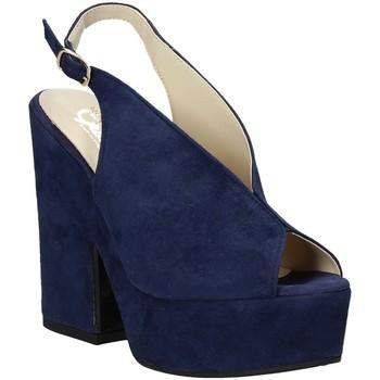 Buty Damskie Sandały Grace Shoes ALBA 107 Niebieski