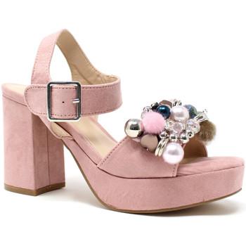 Buty Damskie Sandały Onyx S19-SOX467 Różowy
