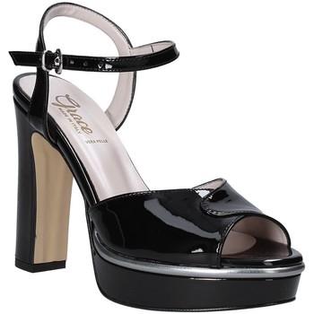 Buty Damskie Sandały Grace Shoes 5753003 Czarny