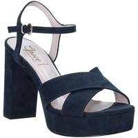 Buty Damskie Sandały Grace Shoes 492PL003 Niebieski