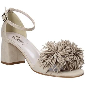 Buty Damskie Sandały Grace Shoes 380020 Beżowy