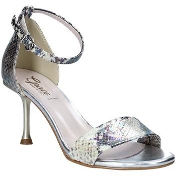 Buty Damskie Sandały Grace Shoes 492G001 Szary